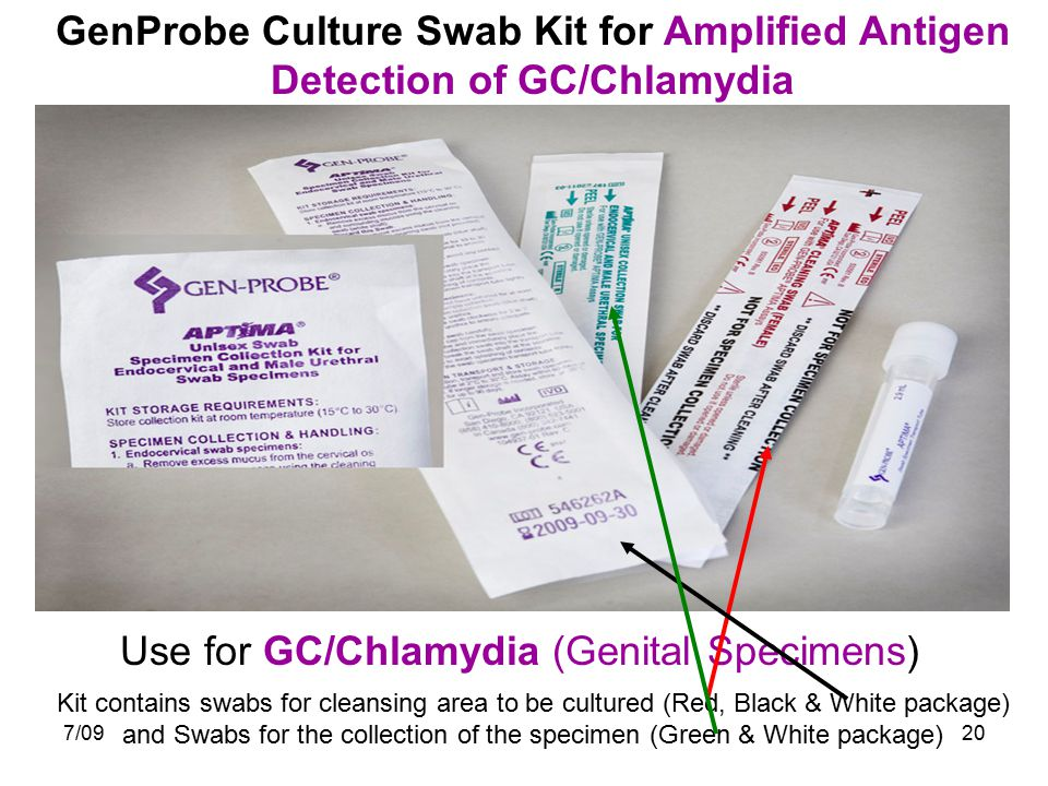 Use for GC/Chlamydia (Genital Specimens)