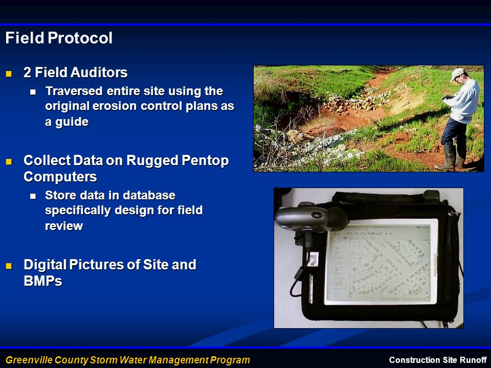 Field Protocol 2 Field Auditors