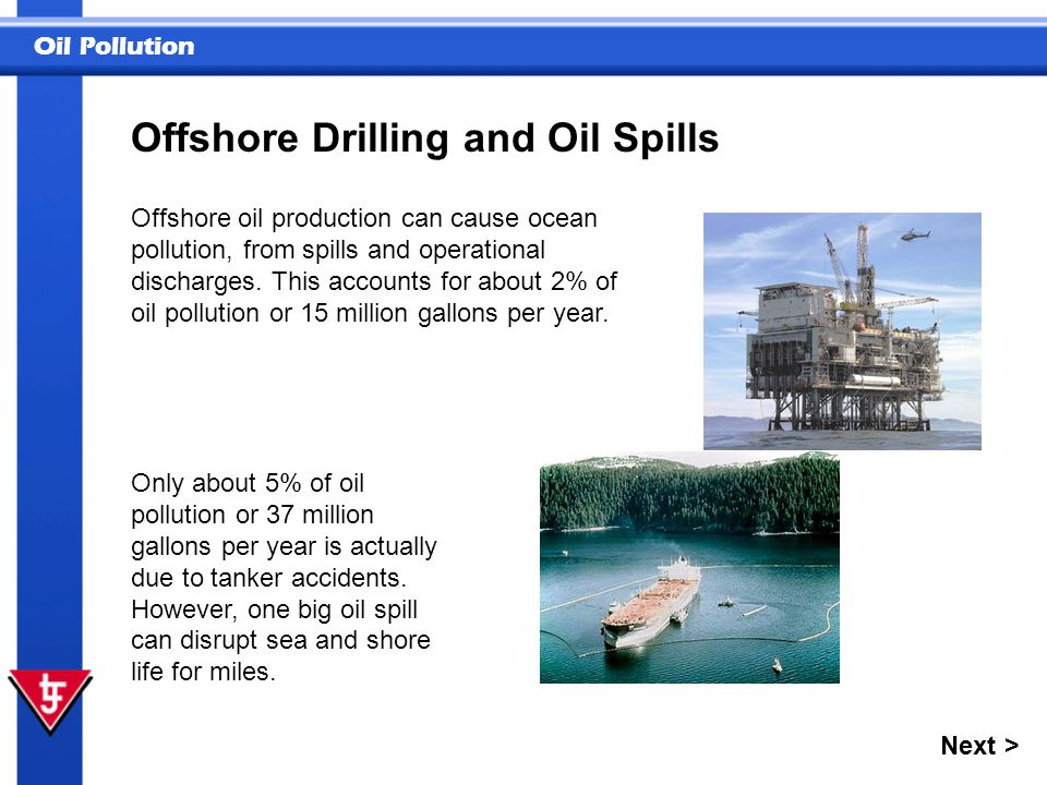 Offshore Drilling and Oil Spills
