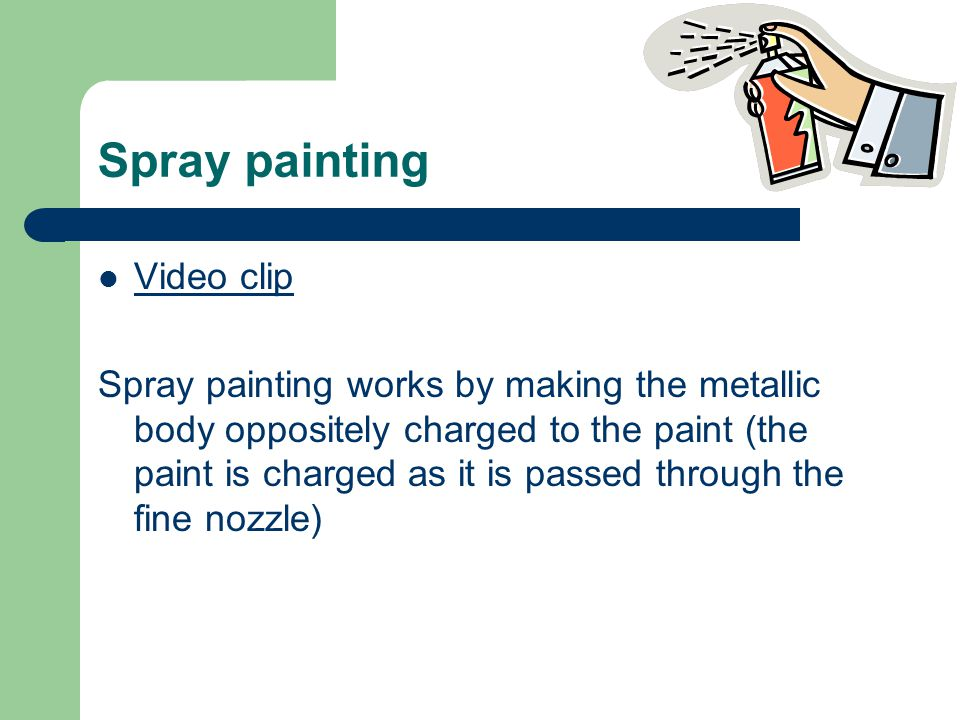 Spray painting Video clip