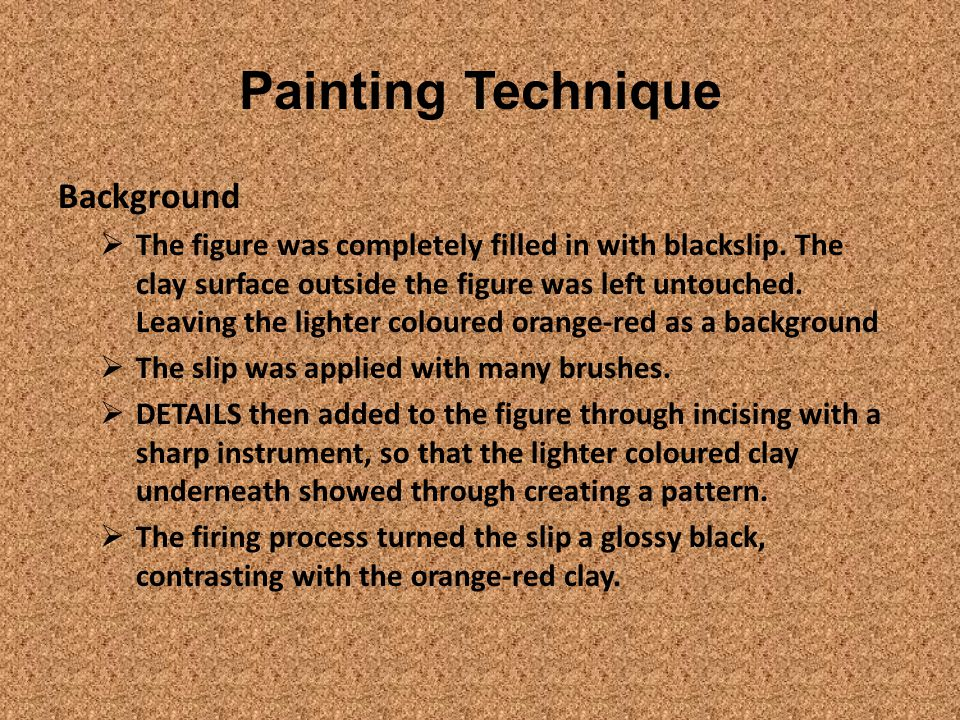 Painting Technique Background