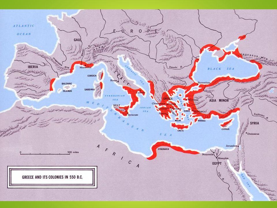 Greek Colonies