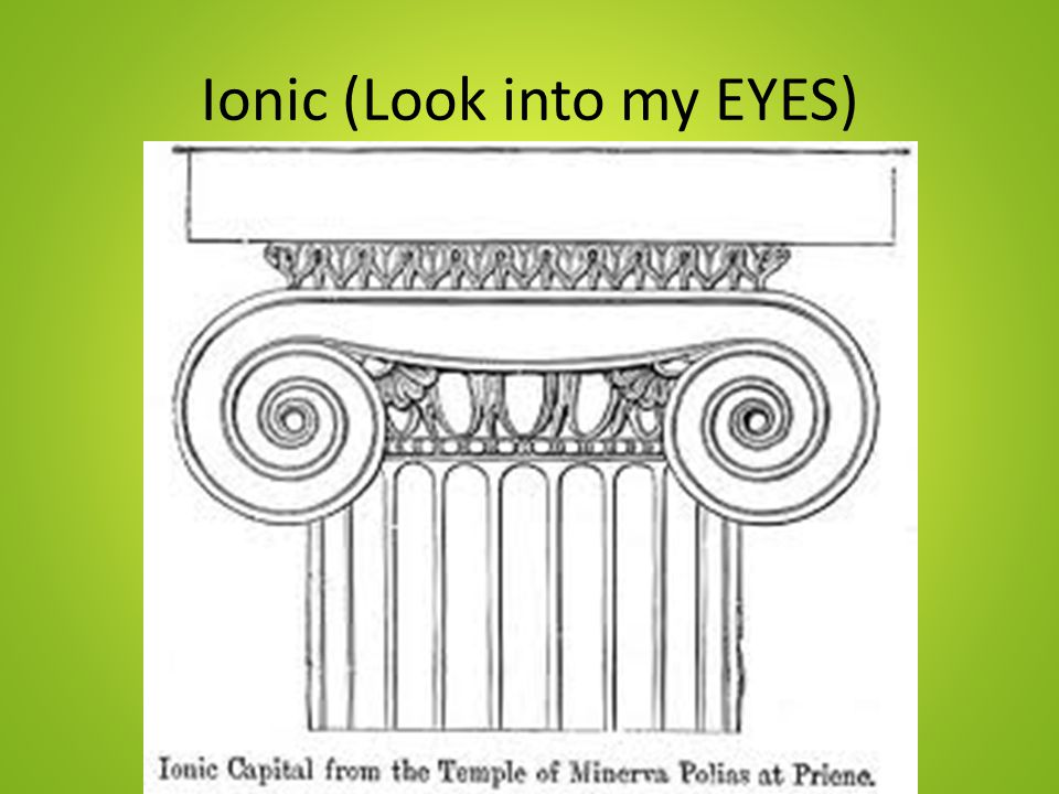 Ionic (Look into my EYES)