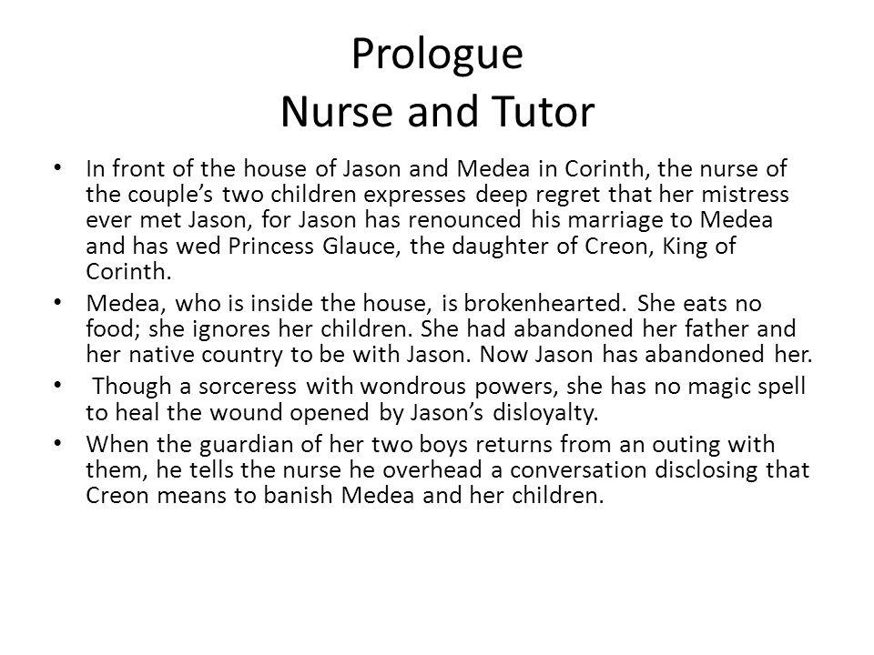 Prologue Nurse and Tutor