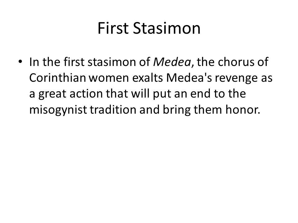 First Stasimon