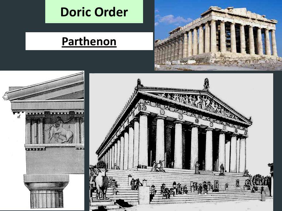 Doric Order Parthenon