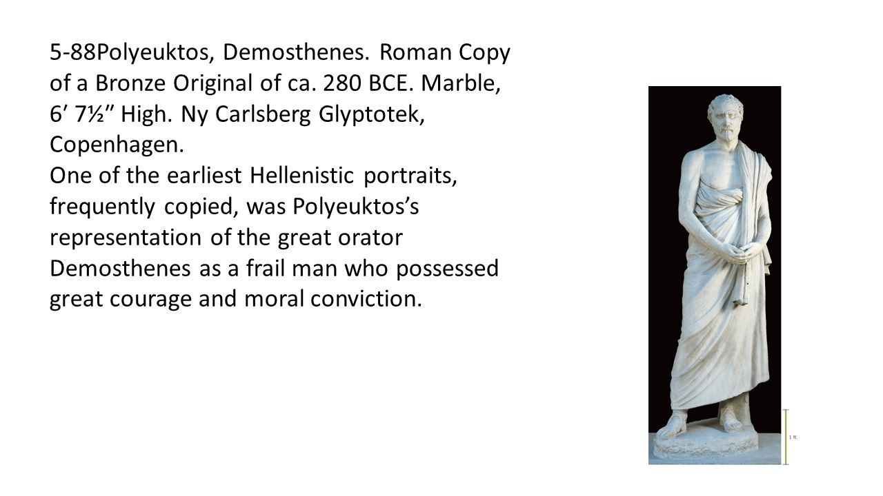 5-88Polyeuktos, Demosthenes. Roman Copy of a Bronze Original of ca