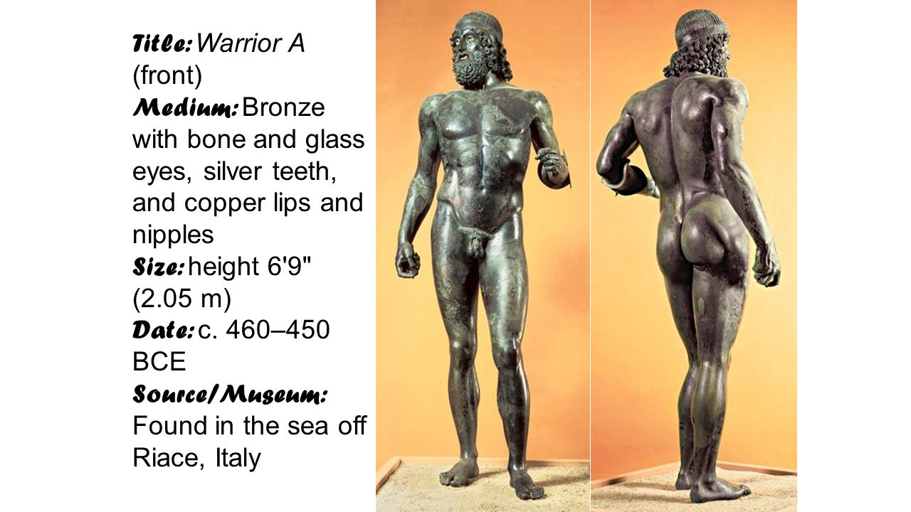 Title: Warrior A (front)