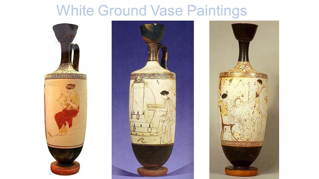 White Ground Vase Paintings