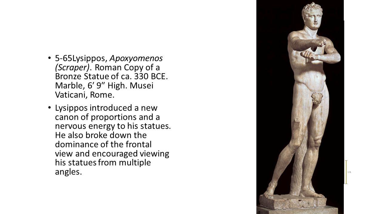 5-65Lysippos, Apoxyomenos (Scraper)