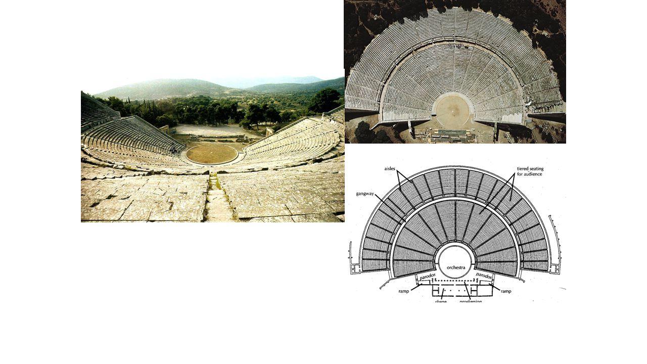 POLYKLEITOS THE YOUNGER, Theater, Epidauros, Greece, ca. 350 BCE.