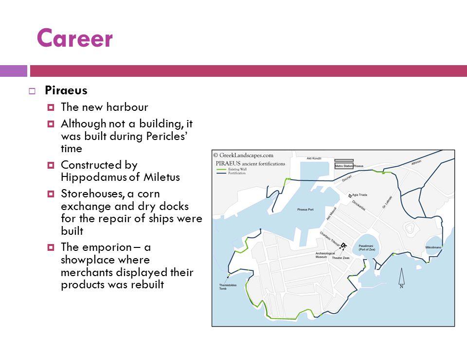 Career Piraeus The new harbour