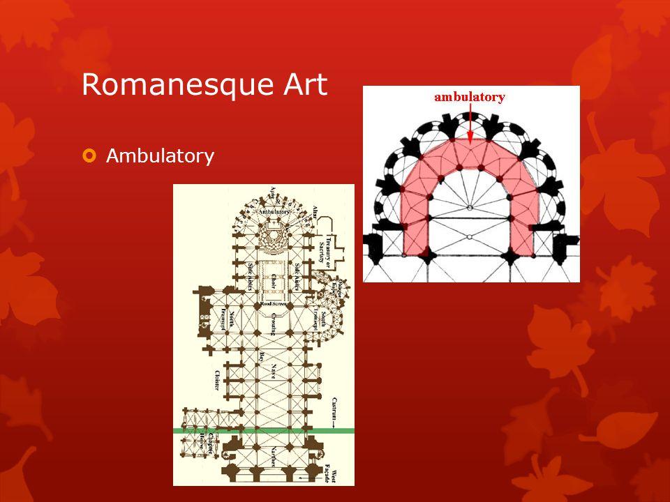 Romanesque Art Ambulatory