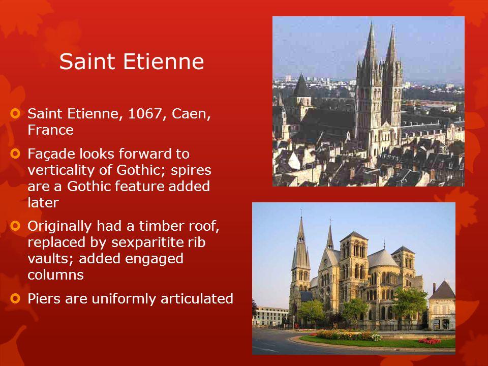 Saint Etienne Saint Etienne, 1067, Caen, France