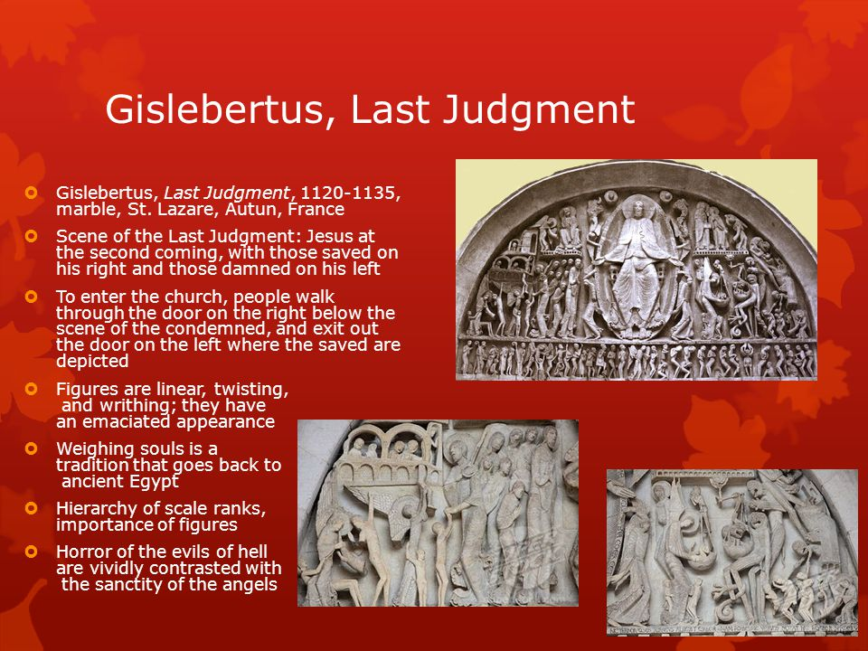 Gislebertus, Last Judgment
