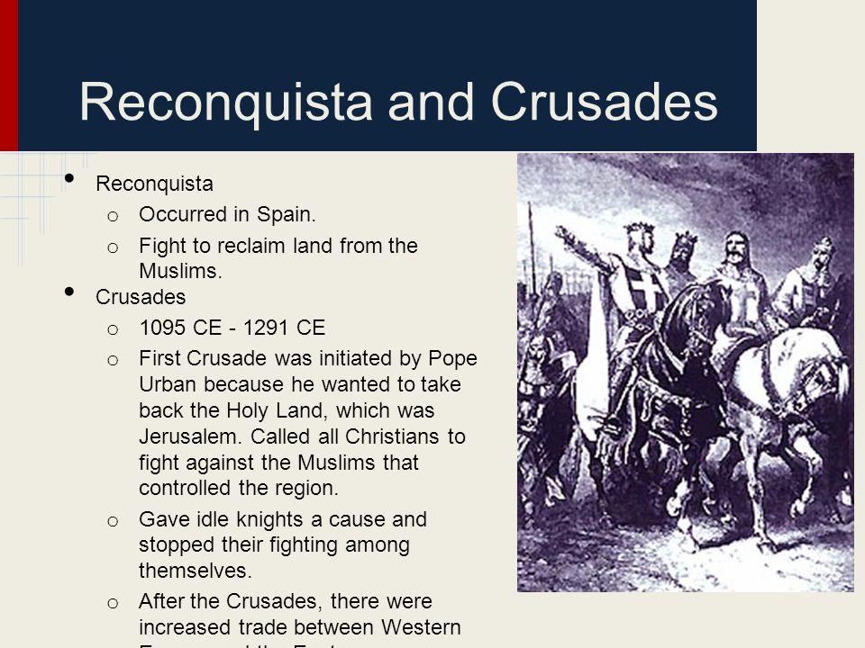 Reconquista and Crusades