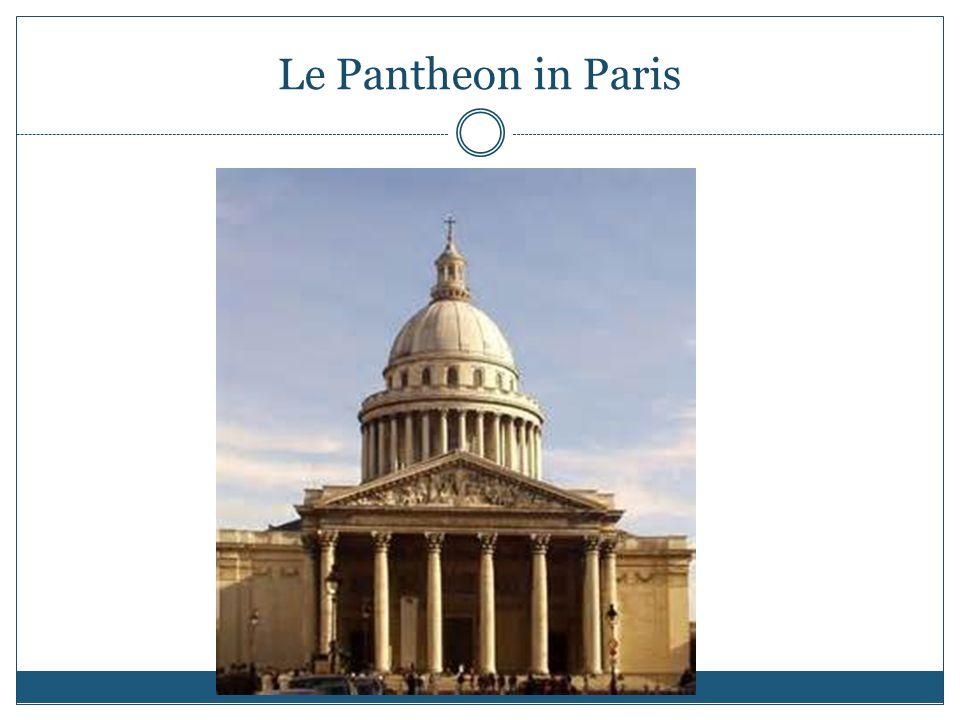Le Pantheon in Paris