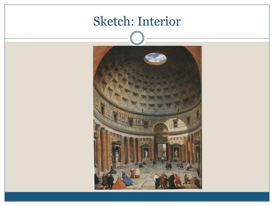 Sketch: Interior