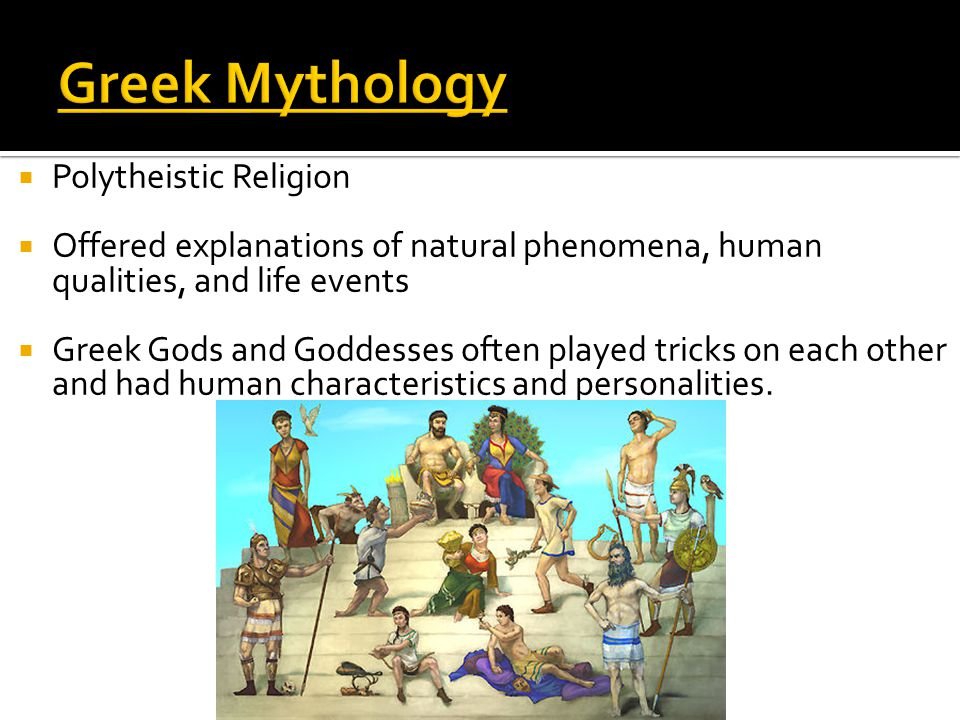 Greek Mythology Polytheistic Religion