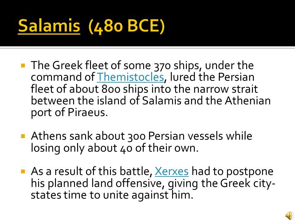 Salamis (480 BCE)