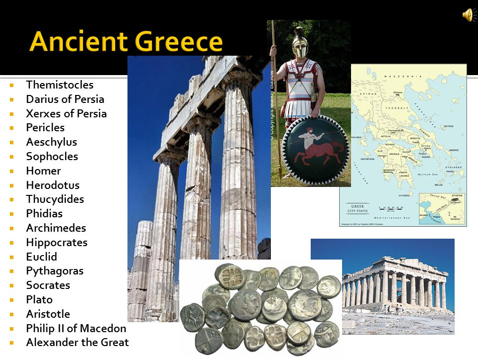Ancient Greece Themistocles Darius of Persia Xerxes of Persia Pericles