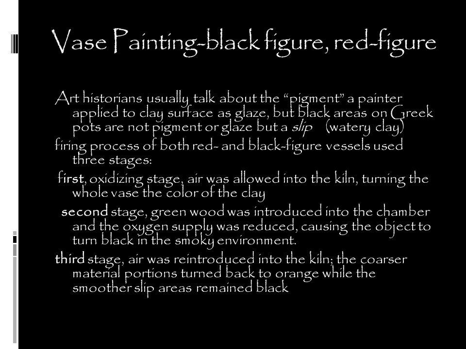 Vase Painting-black figure, red-figure