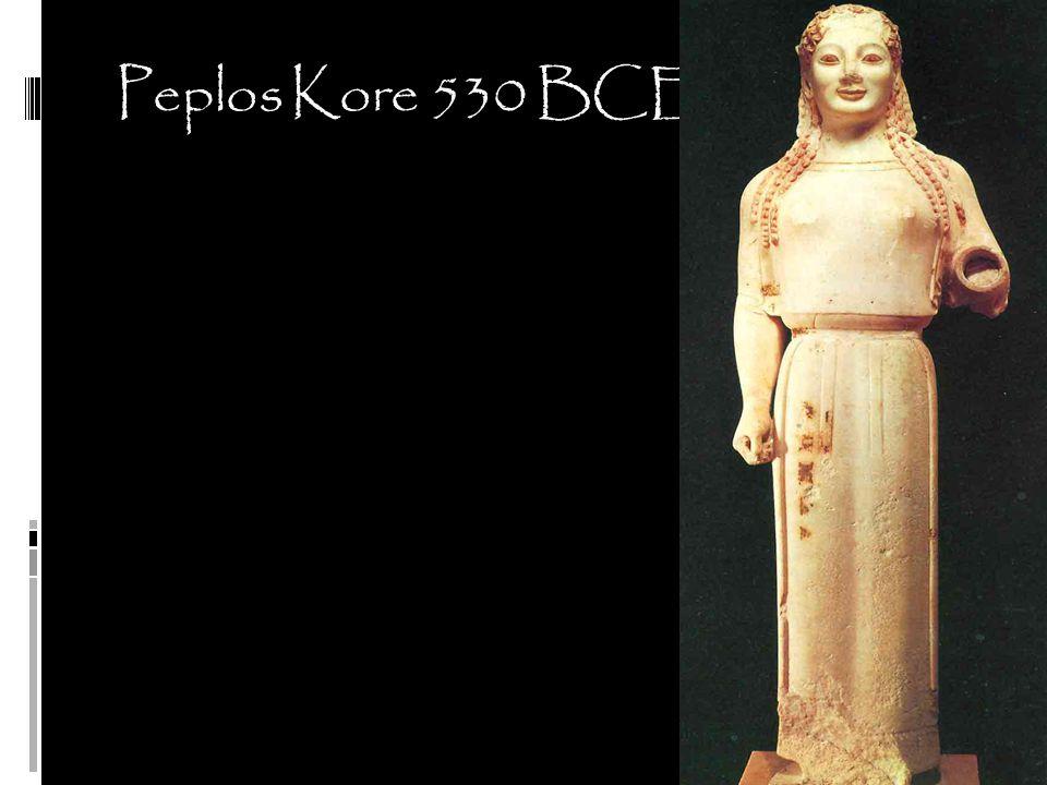 Peplos Kore 530 BCE
