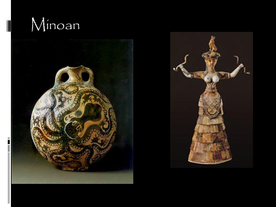 Minoan Marine Style Octopus Flask 1450 BCE Snake Goddess 1600 BCE