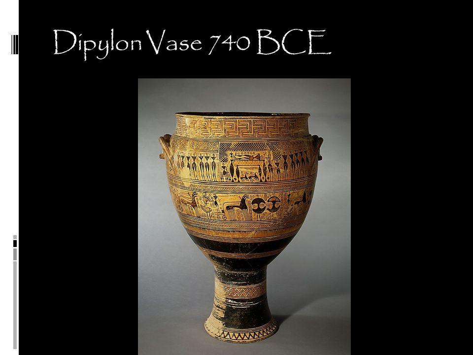 Dipylon Vase 740 BCE