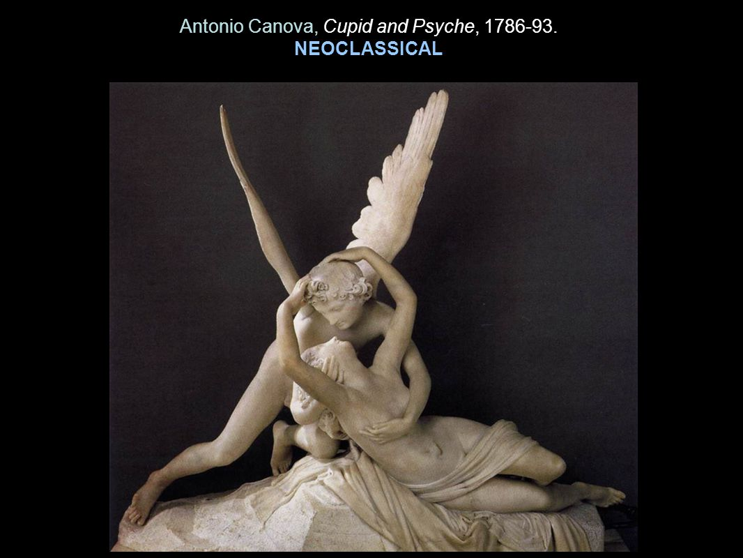 Antonio Canova, Cupid and Psyche, 1786-93.