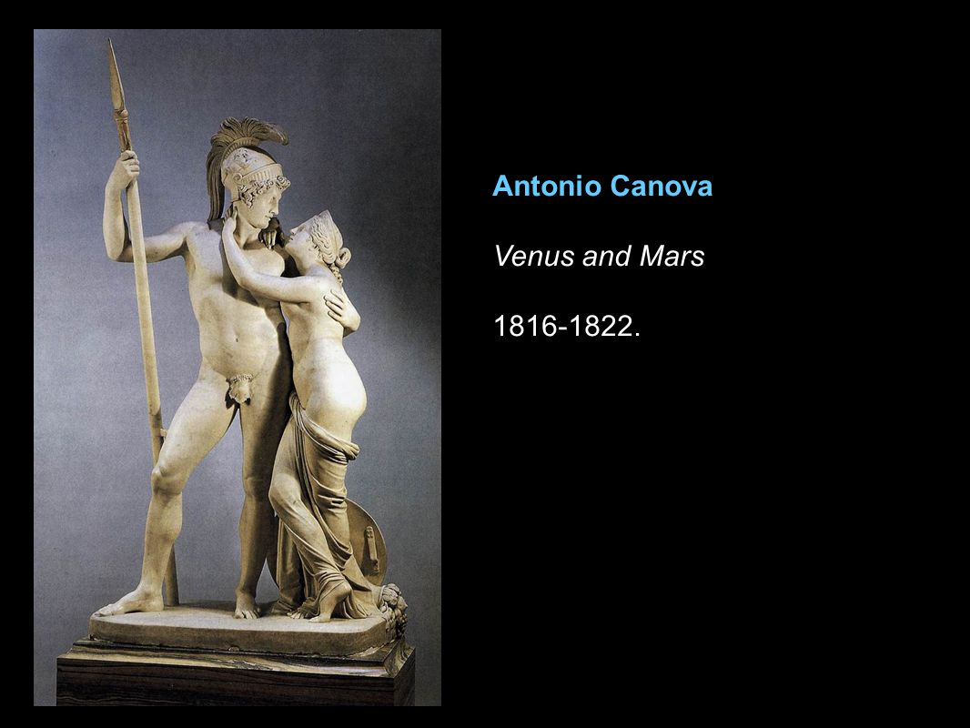 Antonio Canova Venus and Mars 1816-1822.