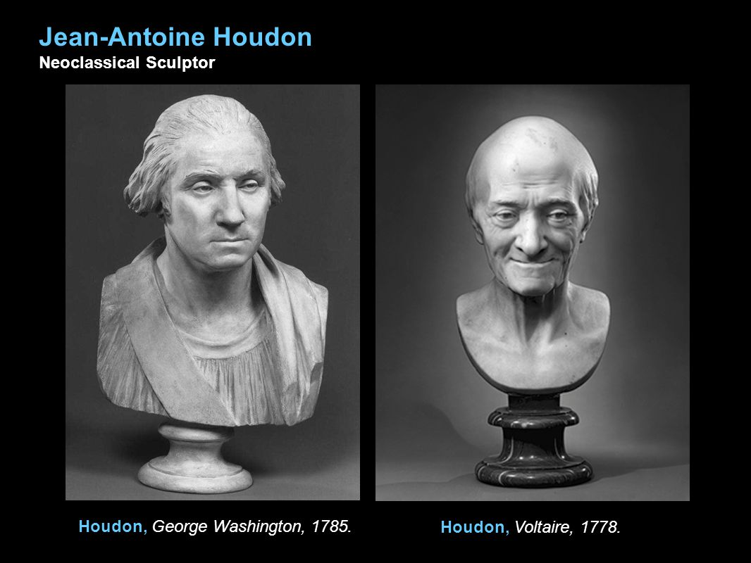 Houdon, George Washington, 1785.