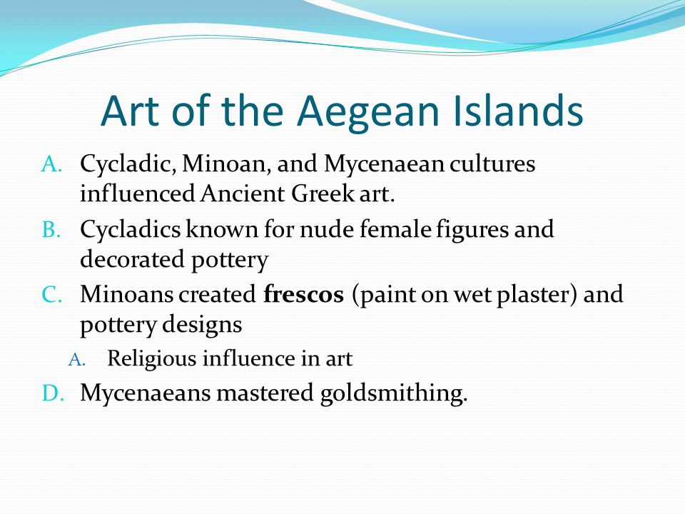 Art of the Aegean Islands