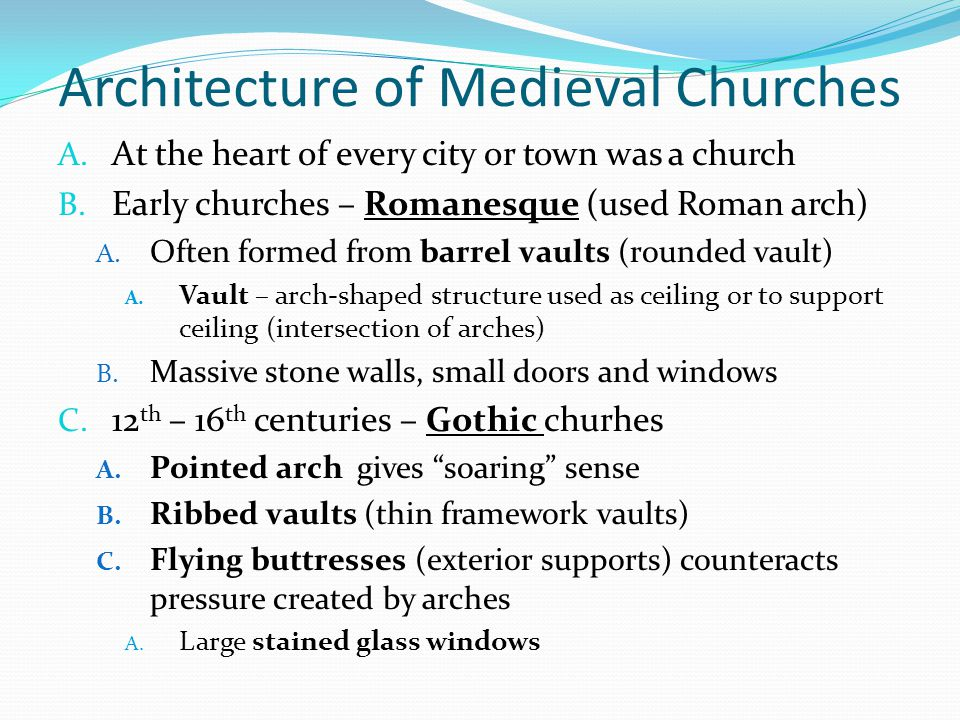 Architecture of Medieval Churches