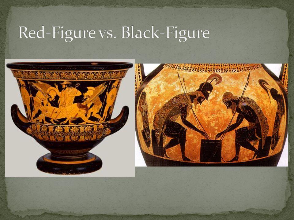 Red-Figure vs. Black-Figure