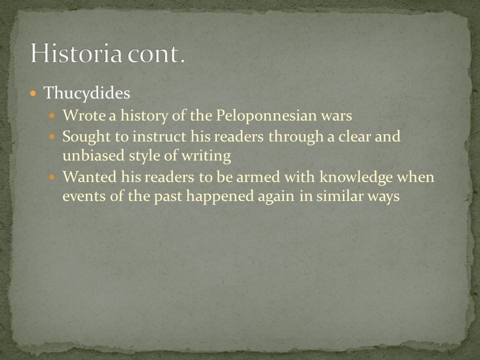 how to write a blog about history of the peloponnesian