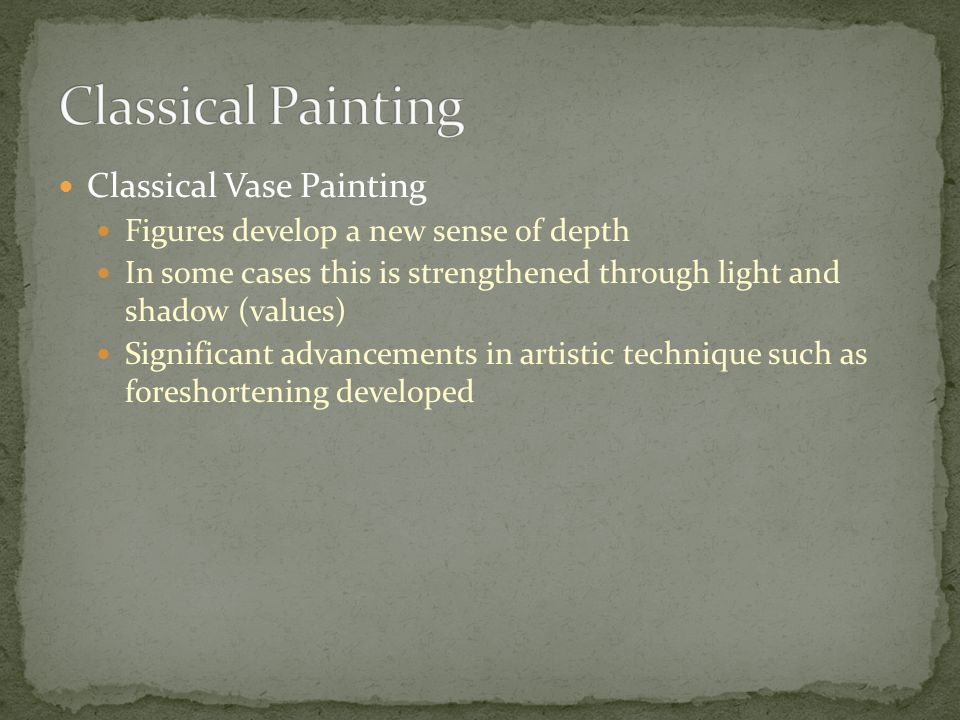 Classical Painting Classical Vase Painting