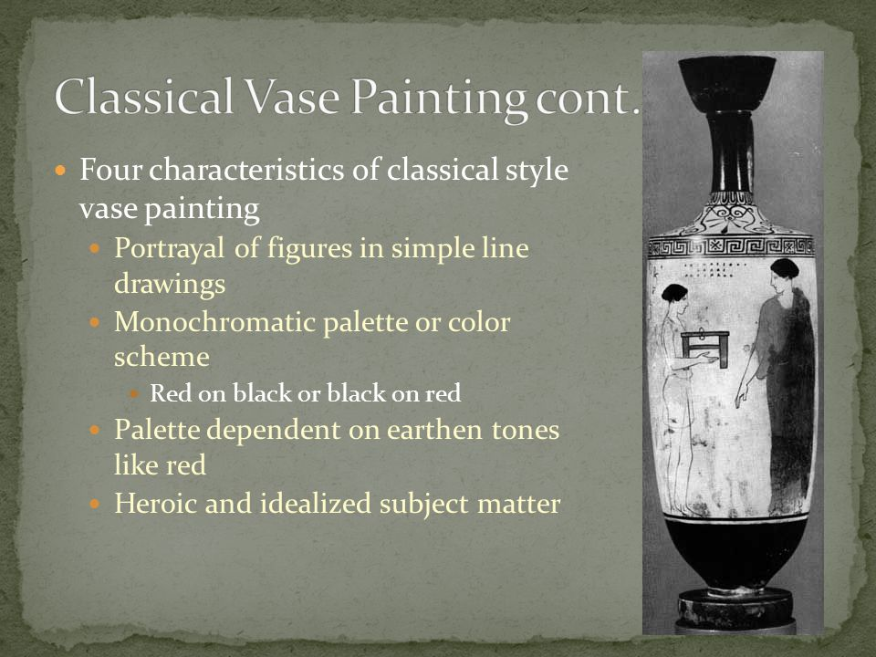 Classical Vase Painting cont.