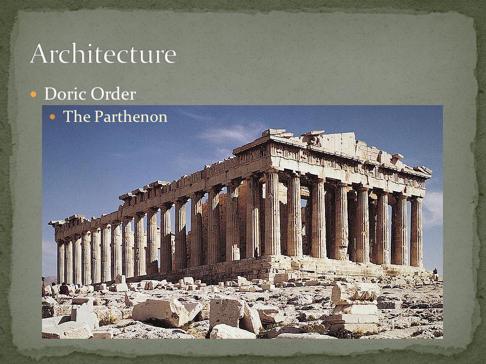 Architecture Doric Order The Parthenon