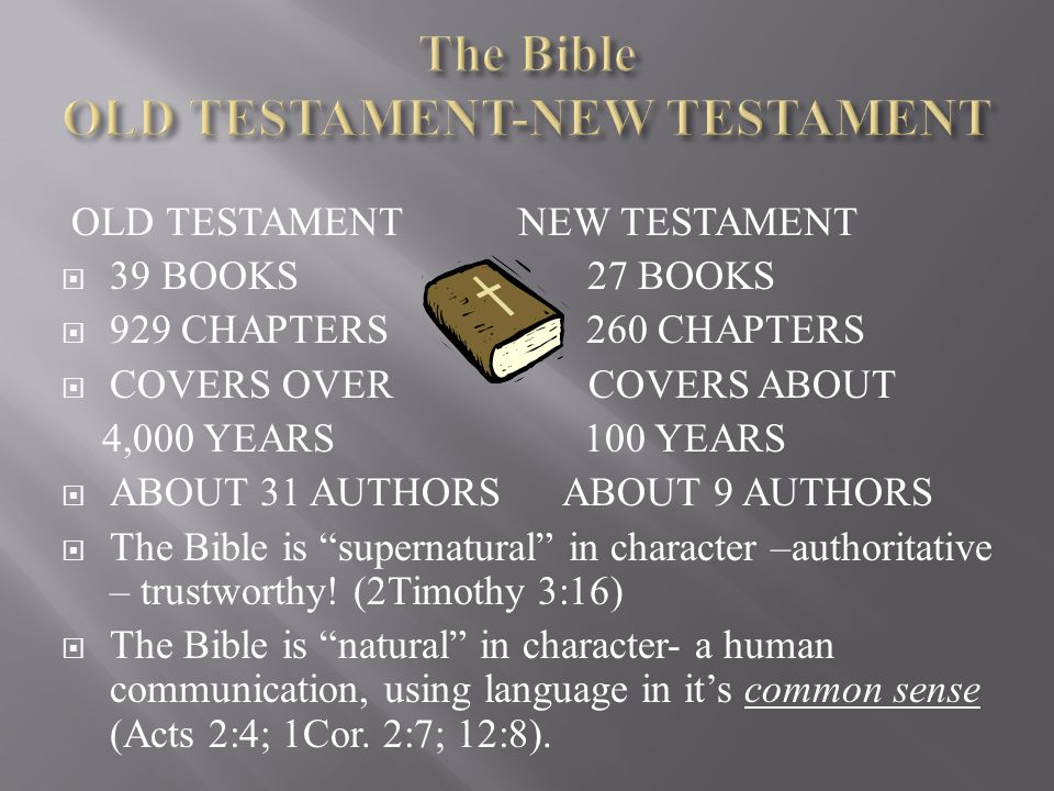 The Bible OLD TESTAMENT-NEW TESTAMENT
