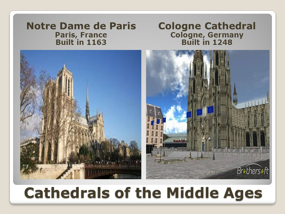 Cathedrals of the Middle Ages