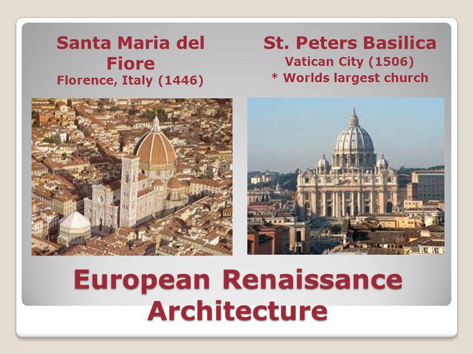European Renaissance Architecture
