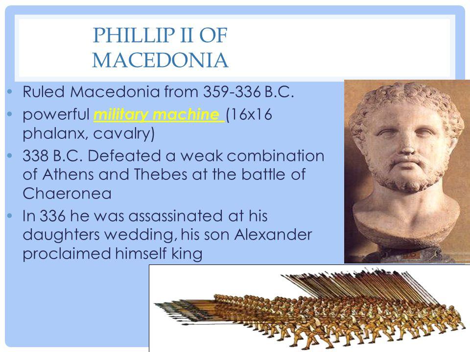 Phillip II of Macedonia