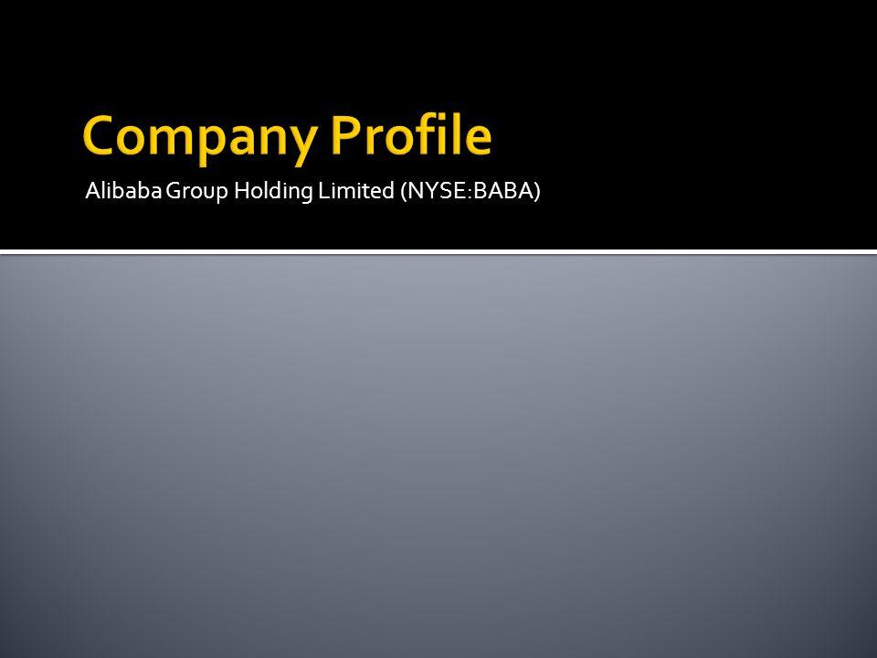 Company Profile Alibaba Group Holding Limited (NYSE:BABA)