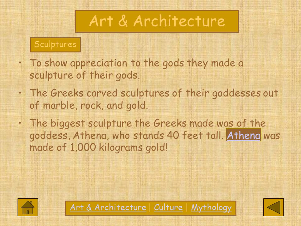 Art & Architecture | Culture | Mythology