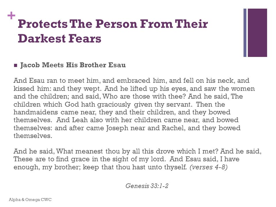 Protects The Person From Their Darkest Fears