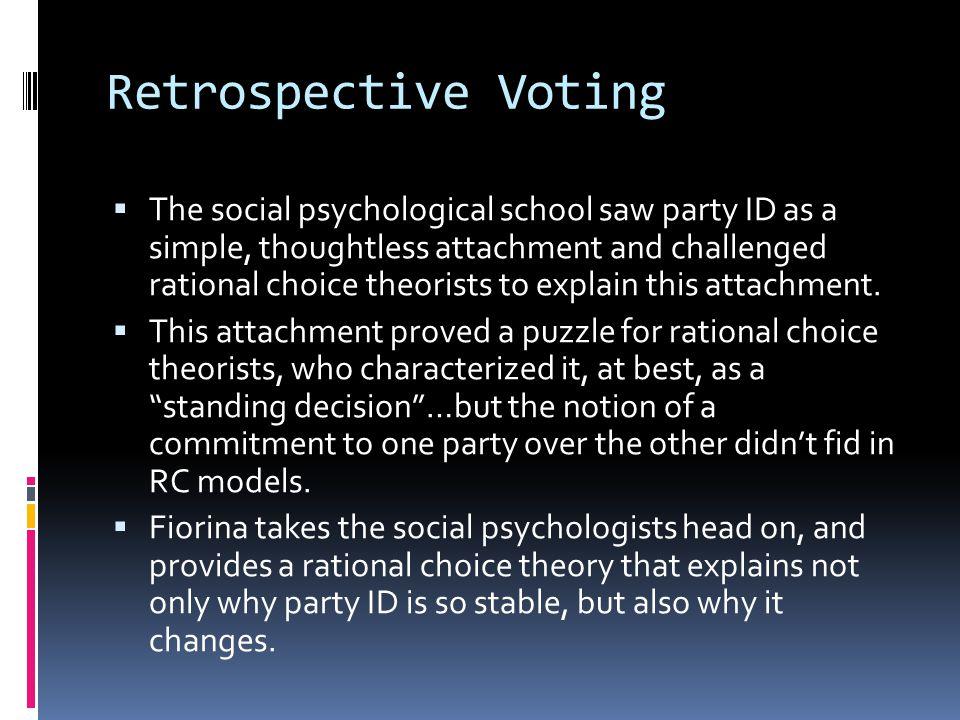 Retrospective Voting