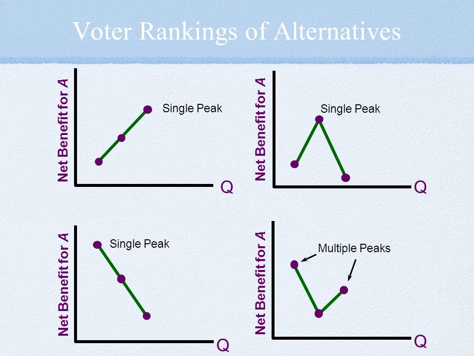 Voter Rankings of Alternatives