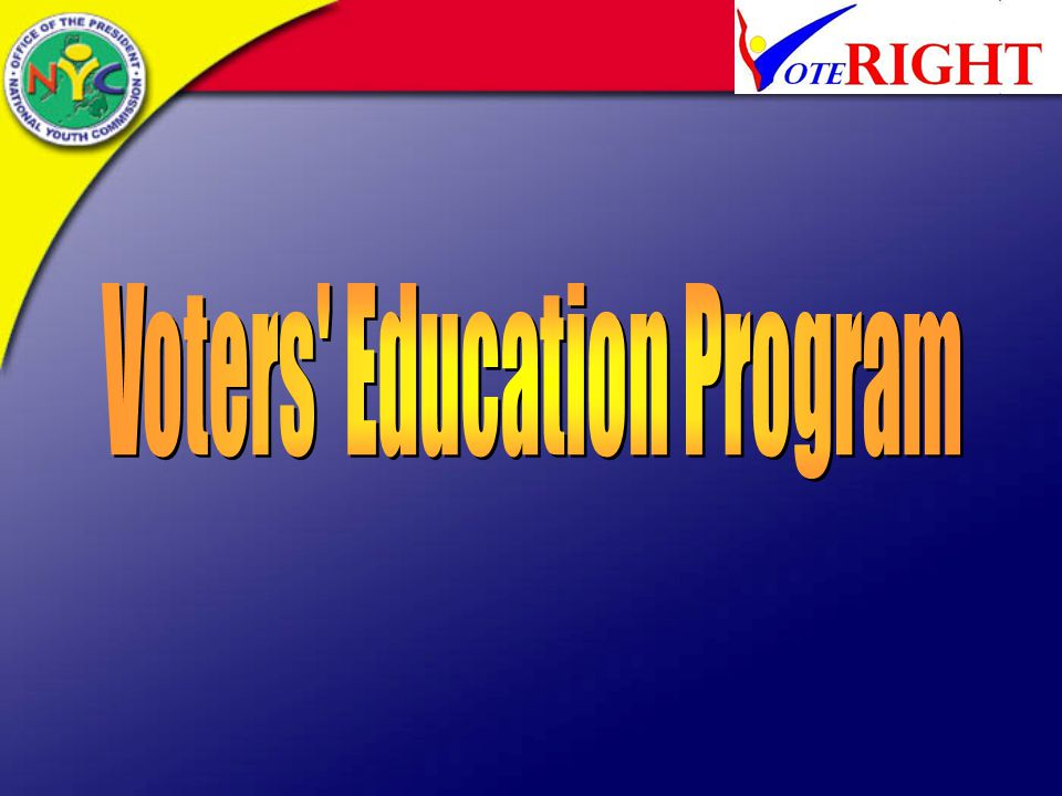 Voters Education Program