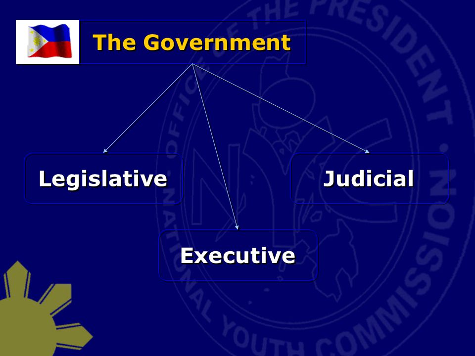 The Government Legislative Judicial Executive